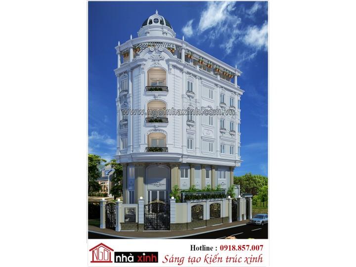 Cùng ngắm kiến trúc nhà phố đẹp hiện đại và cổ điển Ngôi Nhà Xinh