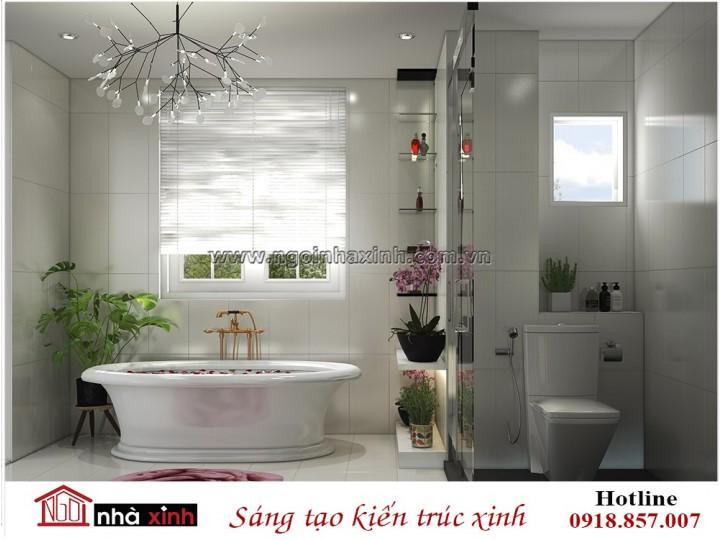 Tham khảo một số không gian phòng tắm đẹp