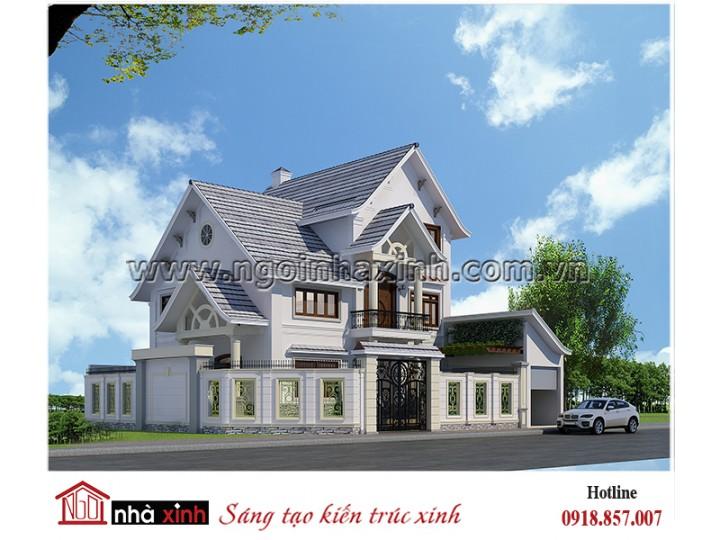 Mẫu biệt thự hiện đại NHÀ XINH - Anh Vinh - BT- NNX0613