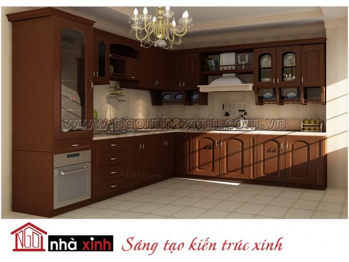 Mẫu kệ bếp đẹp NNX-TBGC001