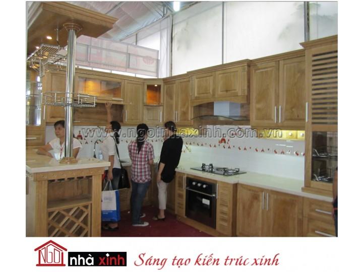 Mẫu kệ bếp đẹp NNX-TBGC003
