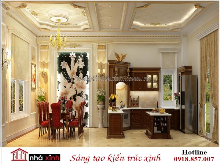Mẫu Nhà Đẹp | Nội Thất Bếp Đẹp | Phong Cách Cổ Điển | Nhà Anh Dũng - Thảo Điền