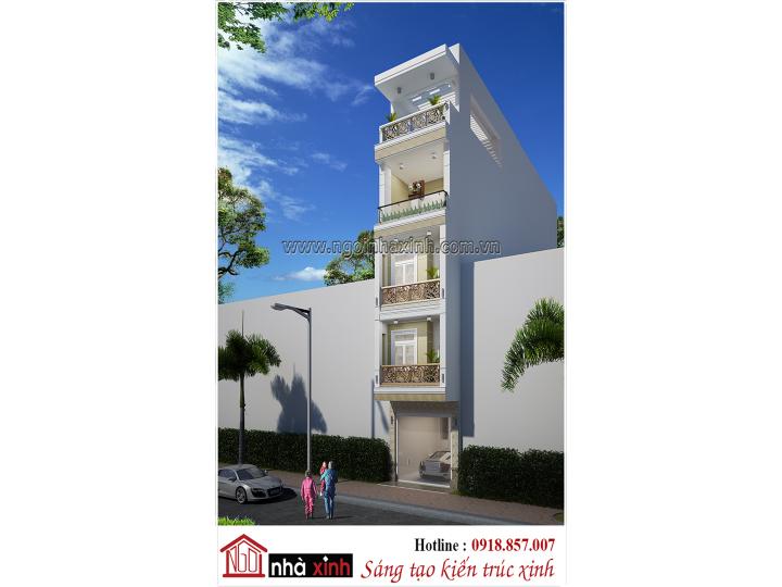 Mẫu Nhà Phố Đẹp | Hiện Đại | Anh Bình - Chị Oanh | Quận 5 - HCM | NP - NNX 720