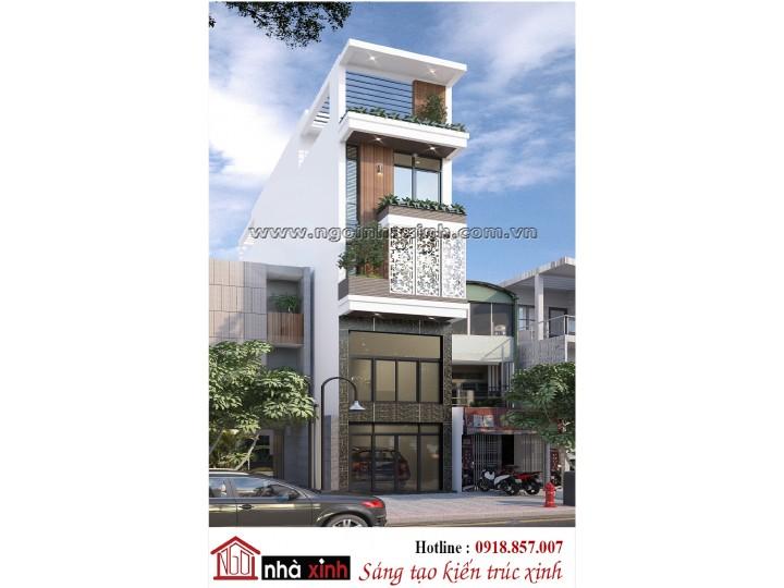 Thiết Kế Nhà Phố Đẹp | Hiện đại | 3 Tầng | Mặt tiền 4Mx18M l Chị Tâm - Nguyễn Trãi Quận 1 TPHCM