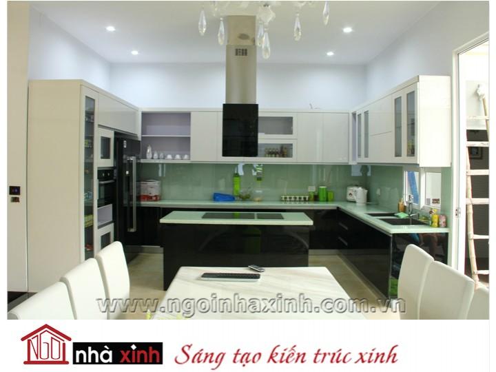 Mẫu nội thất  cao cấp phòng bếp hiện đại đẹp NNX-BHĐ06