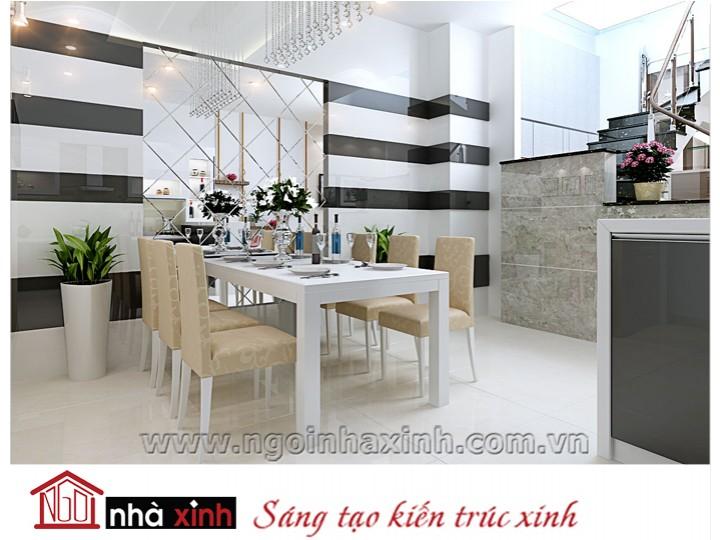 Mẫu nội thất  cao cấp phòng bếp hiện đại đẹp NNX-BHĐ15