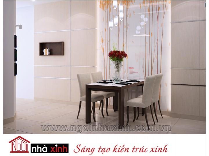 Mẫu nội thất  cao cấp phòng bếp hiện đại đẹp NNX-BHĐ16