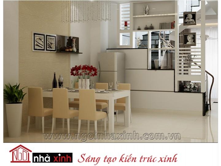 Mẫu nội thất  cao cấp phòng bếp hiện đại đẹp NNX-BHĐ17