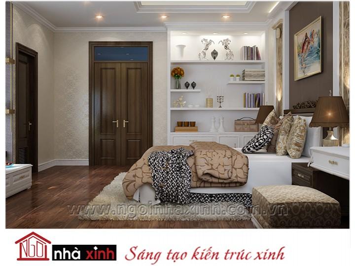 Mẫu nội thất cao cấp phòng ngủ cổ điển đẹp NNX-PNCĐ-005