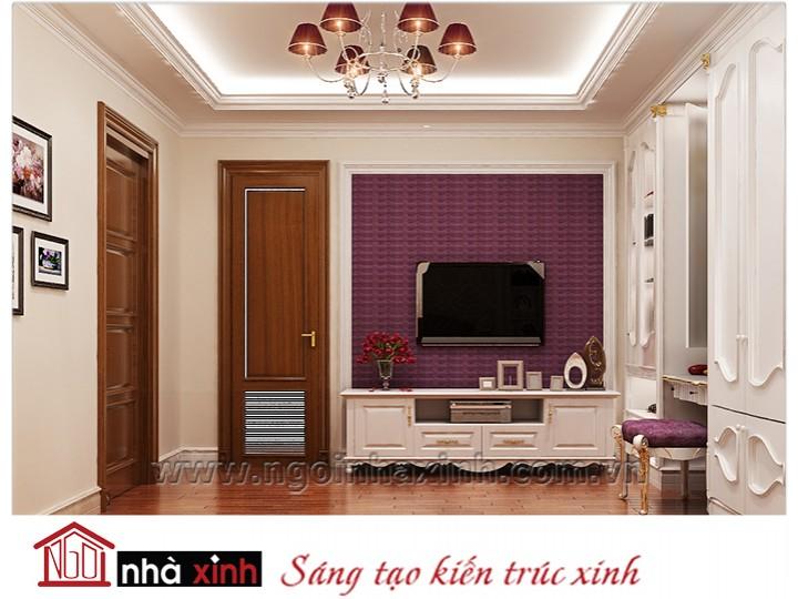 Mẫu nội thất cao cấp phòng ngủ cổ điển đẹp NNX-PNCĐ-016