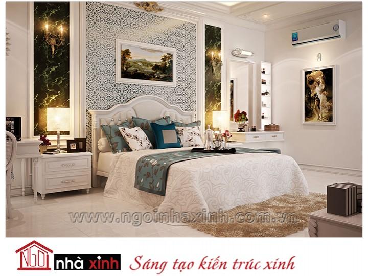 Mẫu nội thất cao cấp phòng ngủ cổ điển đẹp NNX-PNCĐ-019