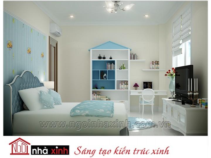 Mẫu nội thất cao cấp phòng ngủ cổ điển đẹp NNX-PNCĐ-021