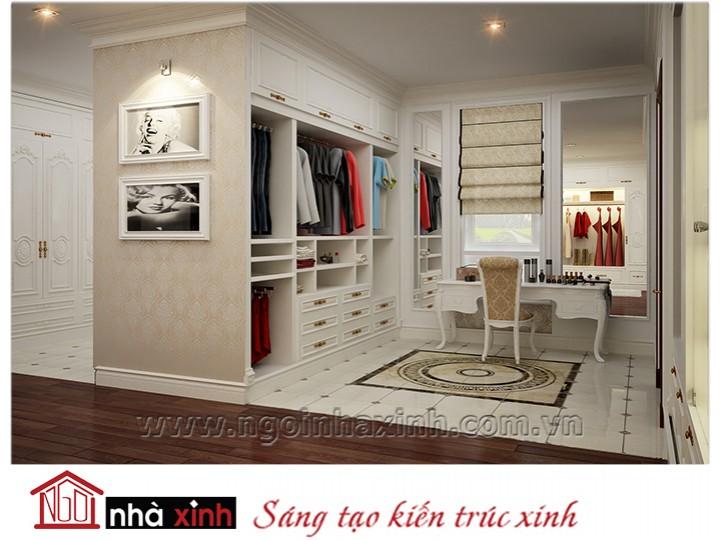 Mẫu nội thất cao cấp phòng ngủ cổ điển đẹp NNX-PNCĐ-030