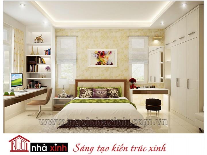 Mẫu nội thất cao cấp phòng ngủ cổ điển đẹp NNX-PNCĐ-033
