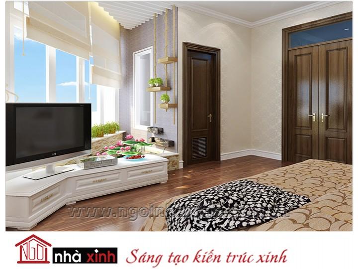Mẫu nội thất cao cấp phòng ngủ cổ điển đẹp NNX-PNCĐ-034