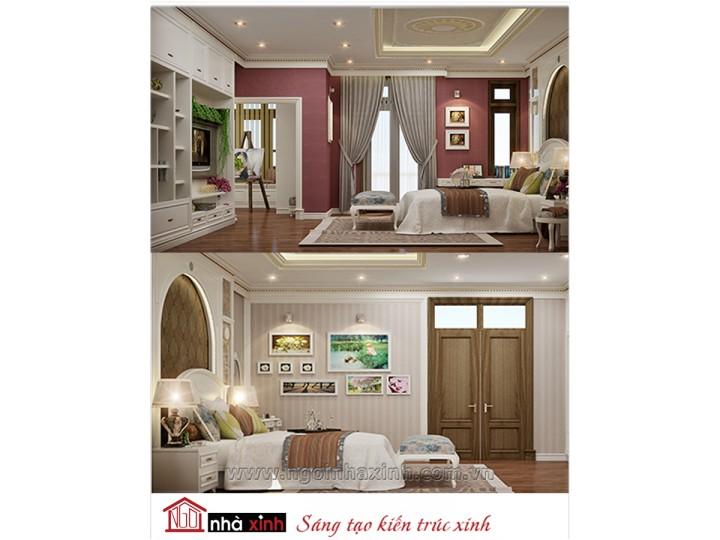 Mẫu nội thất cao cấp phòng ngủ cổ điển đẹp NNX-PNCĐ-038