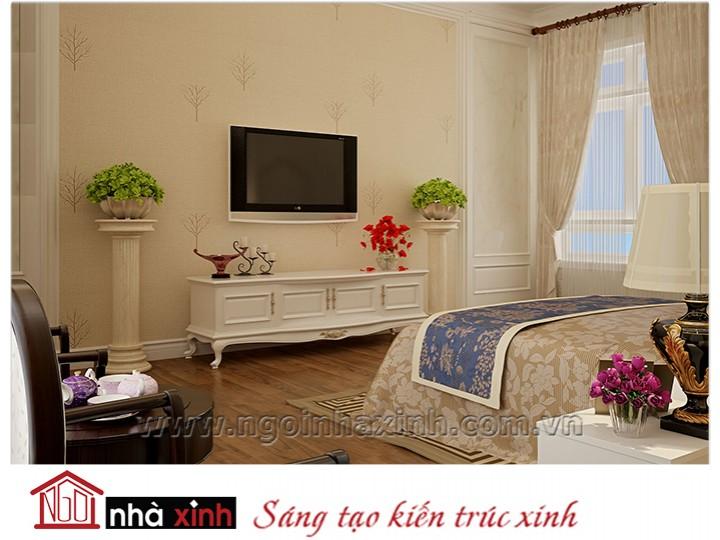 Mẫu nội thất cao cấp phòng ngủ cổ điển đẹp NNX-PNCĐ-040