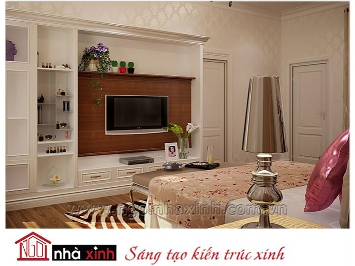 Mẫu nội thất cao cấp phòng ngủ cổ điển đẹp NNX-PNCĐ-043