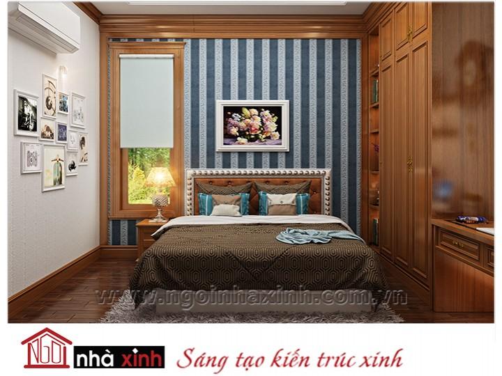 Mẫu nội thất cao cấp phòng ngủ cổ điển đẹp NNX-PNCĐ-046