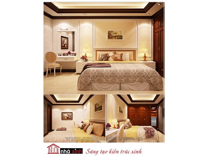 Mẫu nội thất cao cấp phòng ngủ cổ điển đẹp NNX-PNCĐ-049