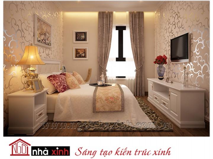 Mẫu nội thất cao cấp phòng ngủ cổ điển đẹp NNX-PNCĐ-053
