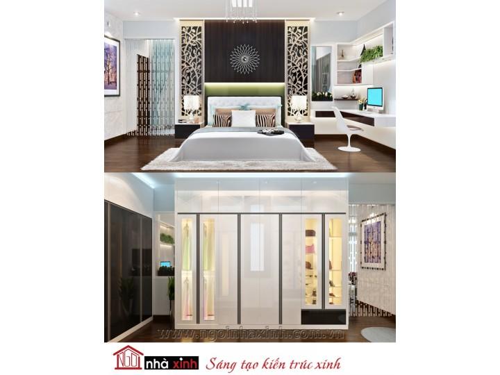 Mẫu nội thất cao cấp phòng ngủ đẹp NNX-PNCC009
