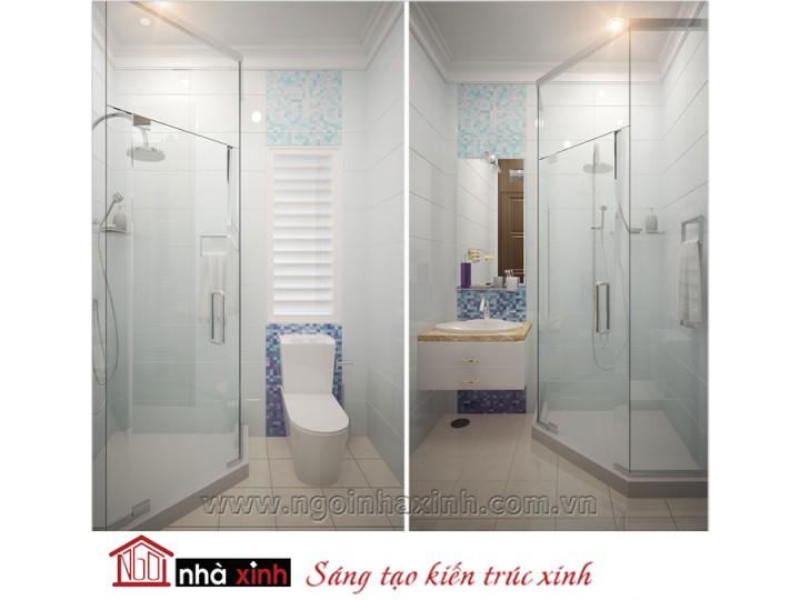 Mẫu nội thất cao cấp phòng tắm - vệ sinh đẹp NNX-PTVS-02