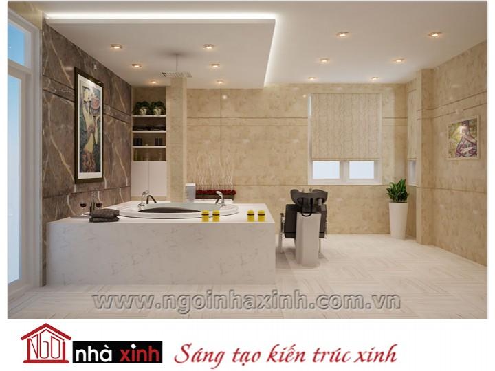 Mẫu nội thất cao cấp phòng tắm - vệ sinh đẹp NNX-PTVS-03