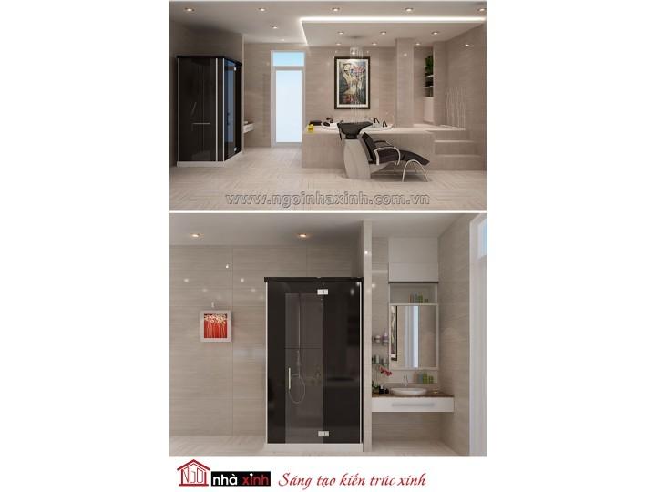Mẫu nội thất cao cấp phòng tắm - vệ sinh đẹp NNX-PTVS-04