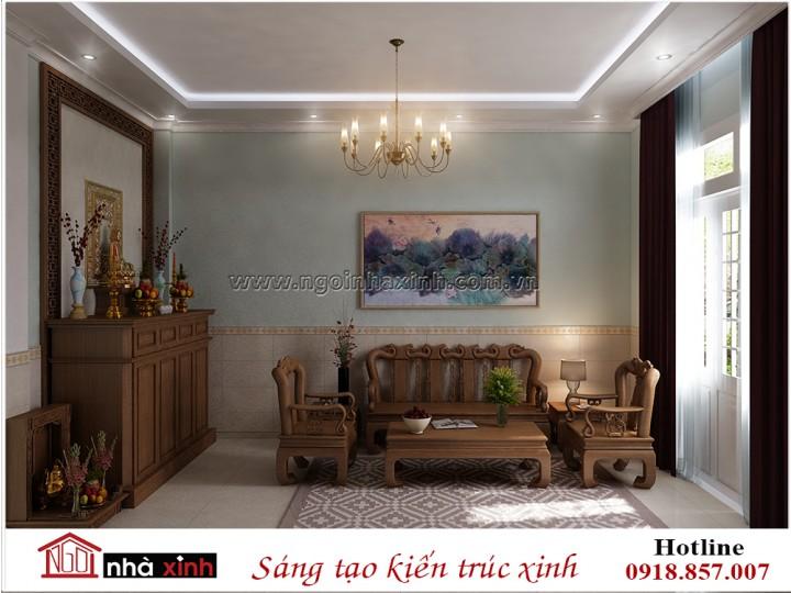 Mẫu nội thất đẹp | Hiện Đại |  Anh Nhựt - Âu Cơ, Tân Bình | NNX - NT730
