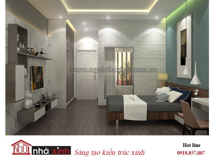 Mẫu nội thất đẹp NHÀ XINH | Hiện Đại | Anh Linh Sơn | NNX - NT725