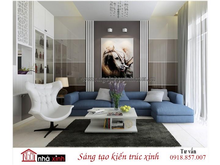 Nội thất đẹp NHÀ XINH | Hiện Đại | Anh Linh - Tân Bình | NNX - NT708