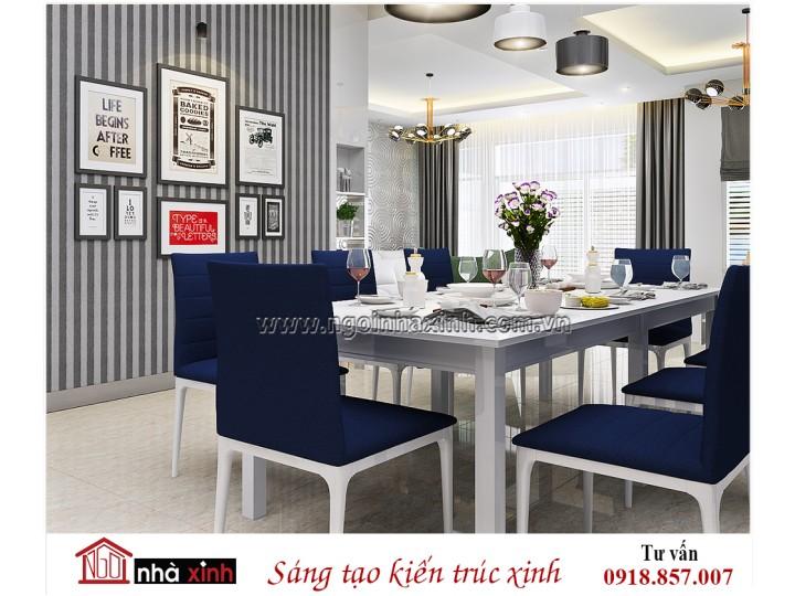 Mẫu nội thất đẹp NHÀ XINH | Hiện Đại | Chị Linh | Bầu Bàng | NNX - NT715