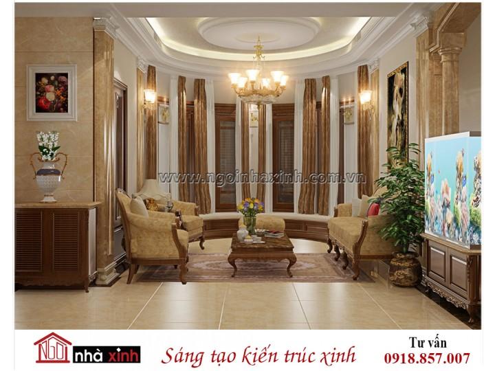 Mẫu nội thất đẹp NHÀ XINH | Tân Cổ điển | Anh Dương - Phú Quốc | NNX - NT710