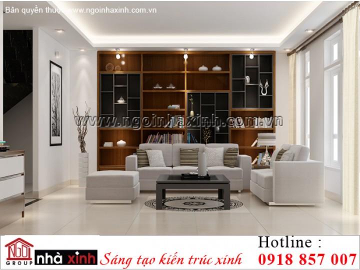 nội thất đẹp hiện đại nhà anh Khanh ở Hồ Chí Minh do Nhà Xinh thiết kế