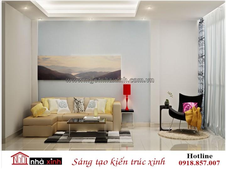 Mẫu nội thất đẹp phòng khách | Hiện Đại | Huy Yến | NT. NNX 187