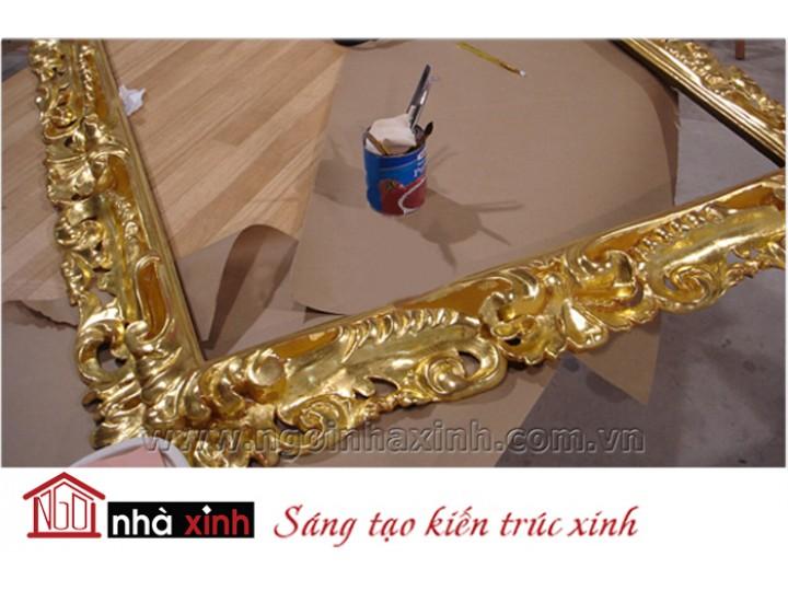 Mẫu nội thất mạ vàng NNX-NTMV-002