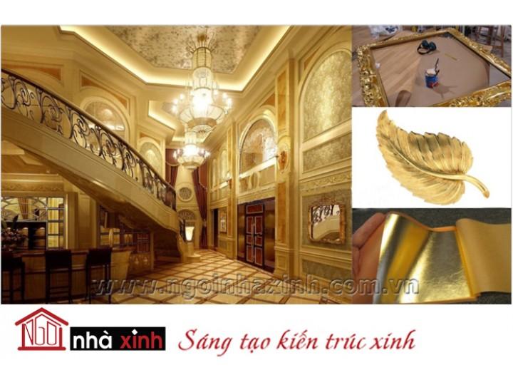 Mẫu nội thất mạ vàng NNX-NTMV-004
