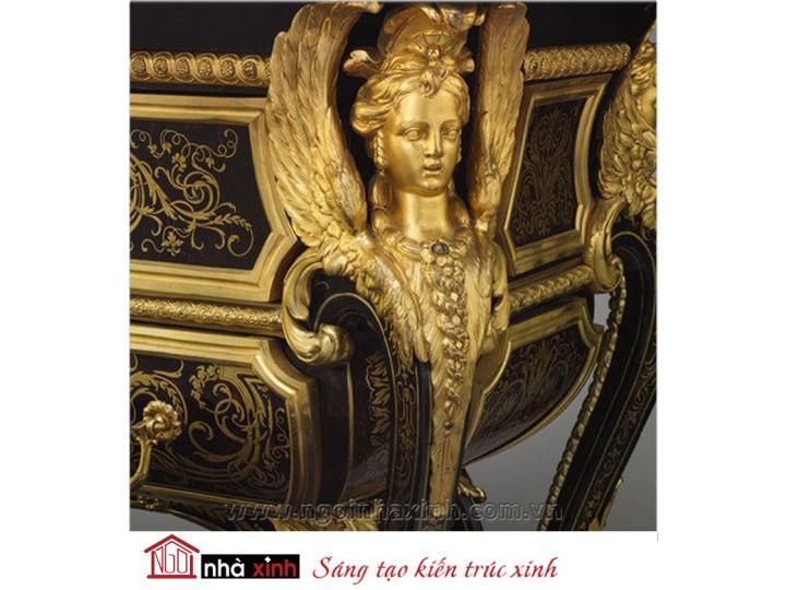 Mẫu nội thất mạ vàng NNX-NTMV-007