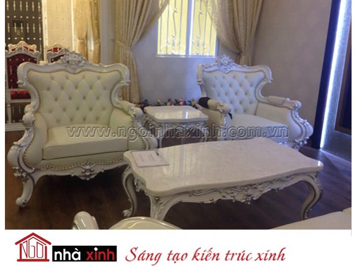 Mẫu nội thất mạ vàng - mạ bạc NNX-PKMV01