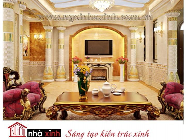 Mẫu nội thất mạ vàng NNX-PKMV02