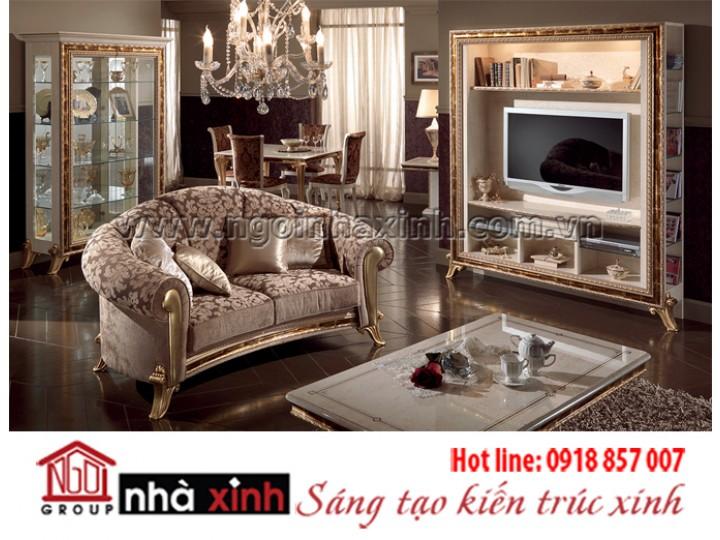 Mẫu nội thất mạ vàng NNX-PKMV100