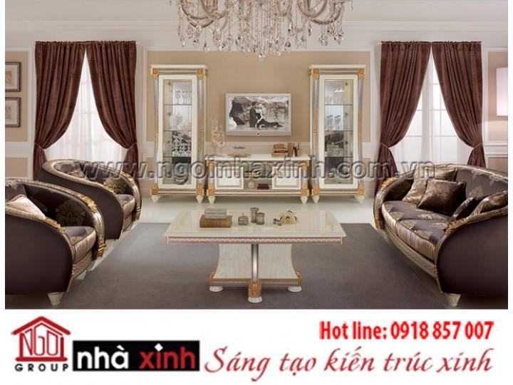 Mẫu nội thất mạ vàng NNX-PKMV135