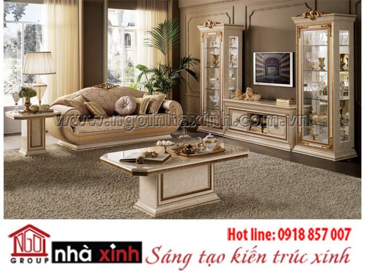 Mẫu nội thất mạ vàng NNX-PKMV138