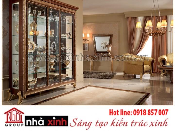 Mẫu nội thất mạ vàng NNX-PKMV185