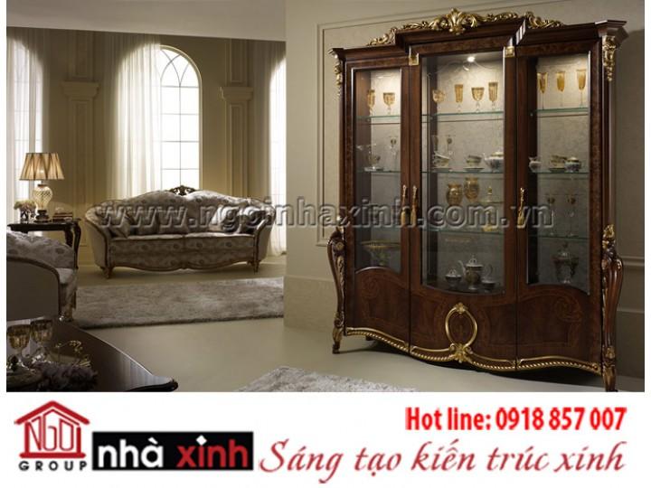Mẫu nội thất mạ vàng NNX-PKMV209