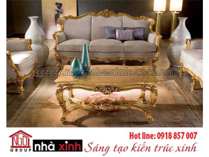 Mẫu nội thất mạ vàng NNX-PKMV21