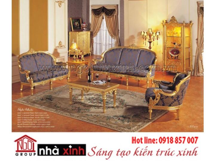 Mẫu nội thất mạ vàng NNX-PKMV58