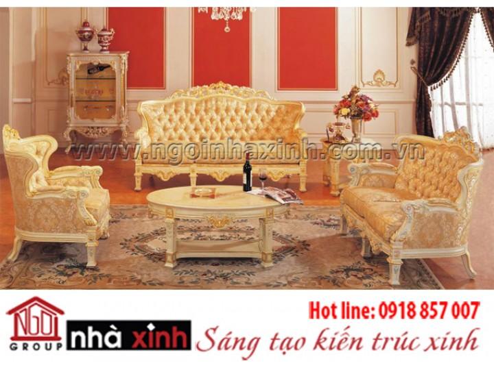 Mẫu nội thất mạ vàng NNX-PKMV71