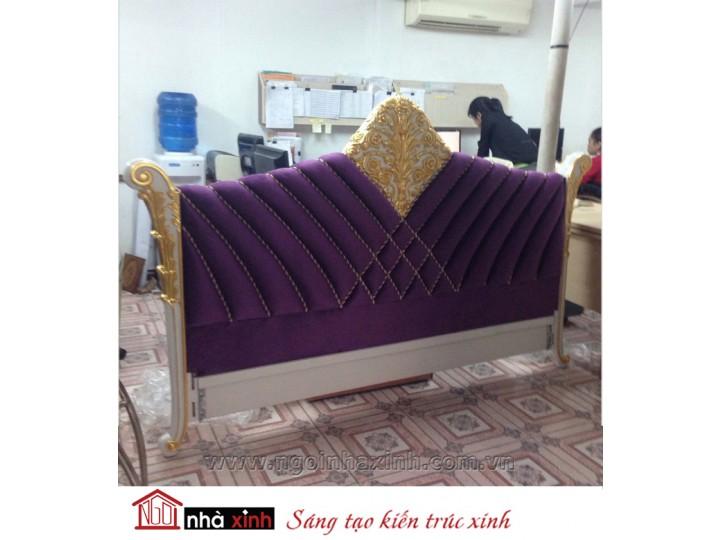 Mẫu nội thất mạ vàng phòng ngủ đẹp NNX-PNMV-008